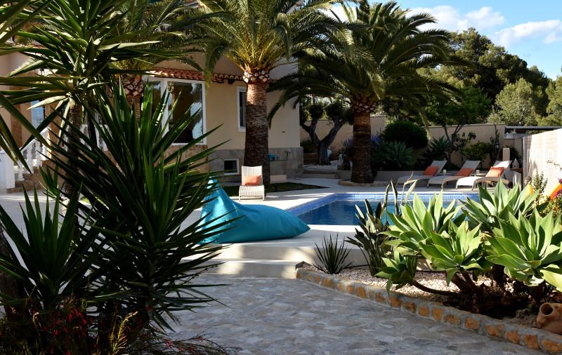 Casa Girasol Moraira Garden